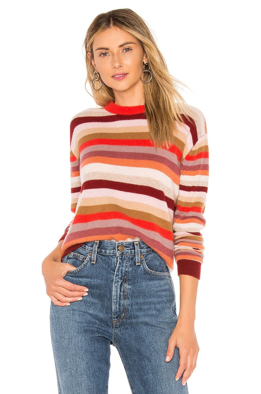 27 MILES MALIBU Xiara Sweater in Red