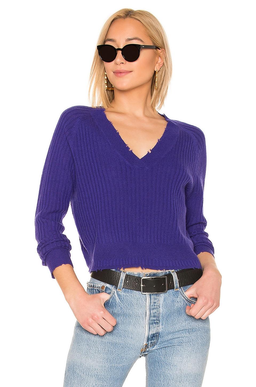27 MILES MALIBU Bette Sweater in Purple