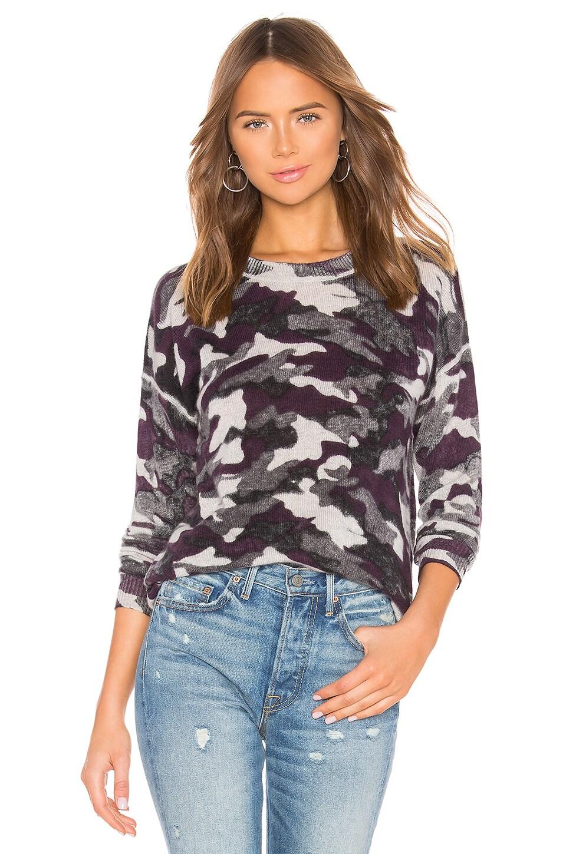 27 MILES MALIBU Mason Sweater in Purple