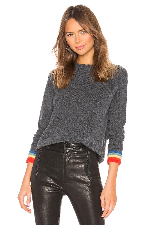 27 MILES MALIBU Vivian Sweater in Charcoal