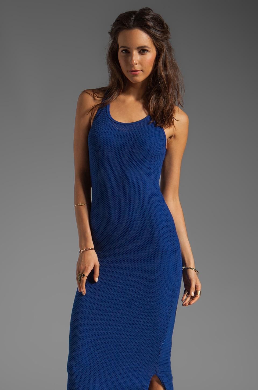 291 Circle Mesh Racerback Maxi Dress in Sapphire