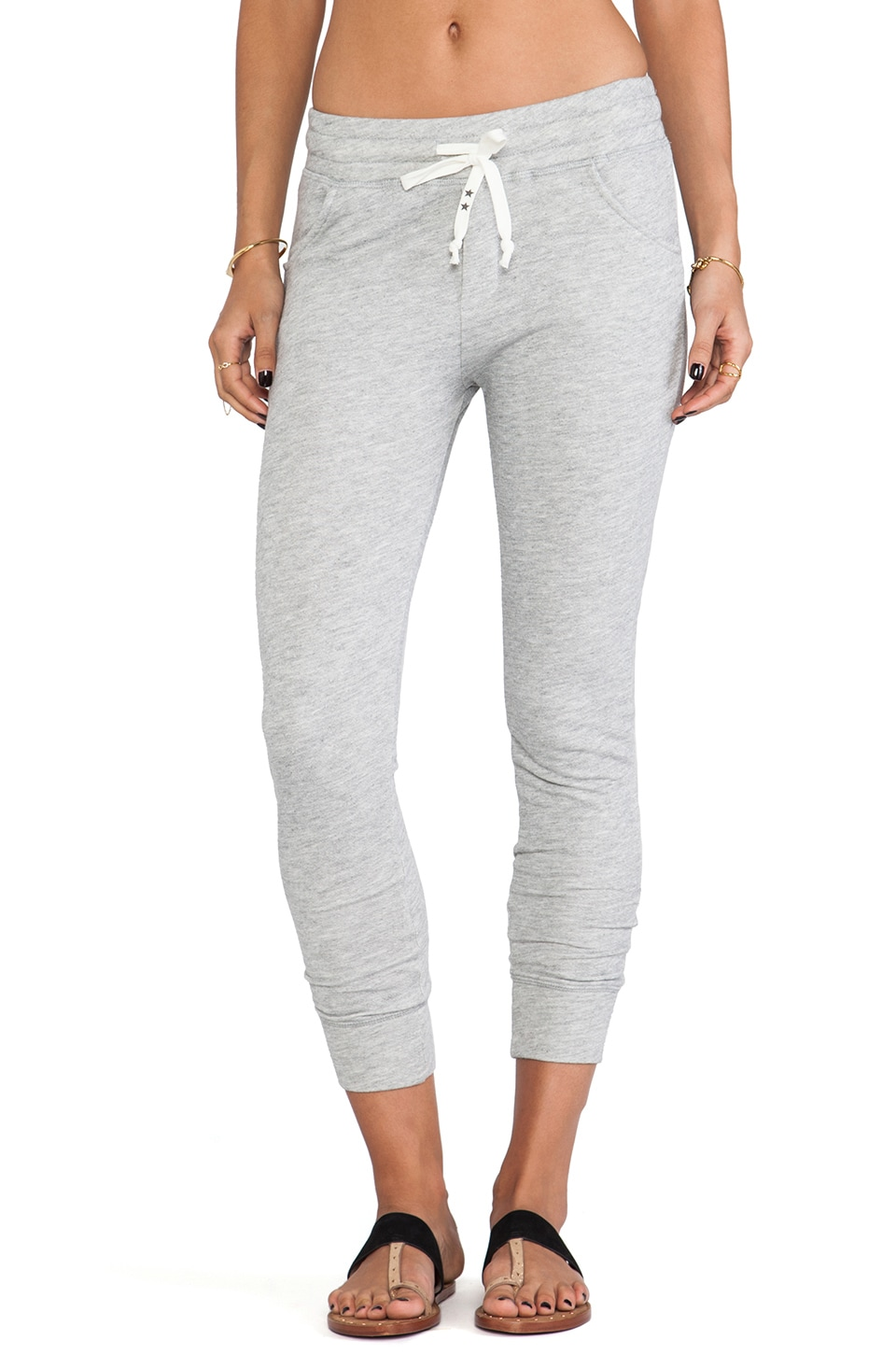 291 Birds Relaxed Slouchy Sweatpant in Heather Grey