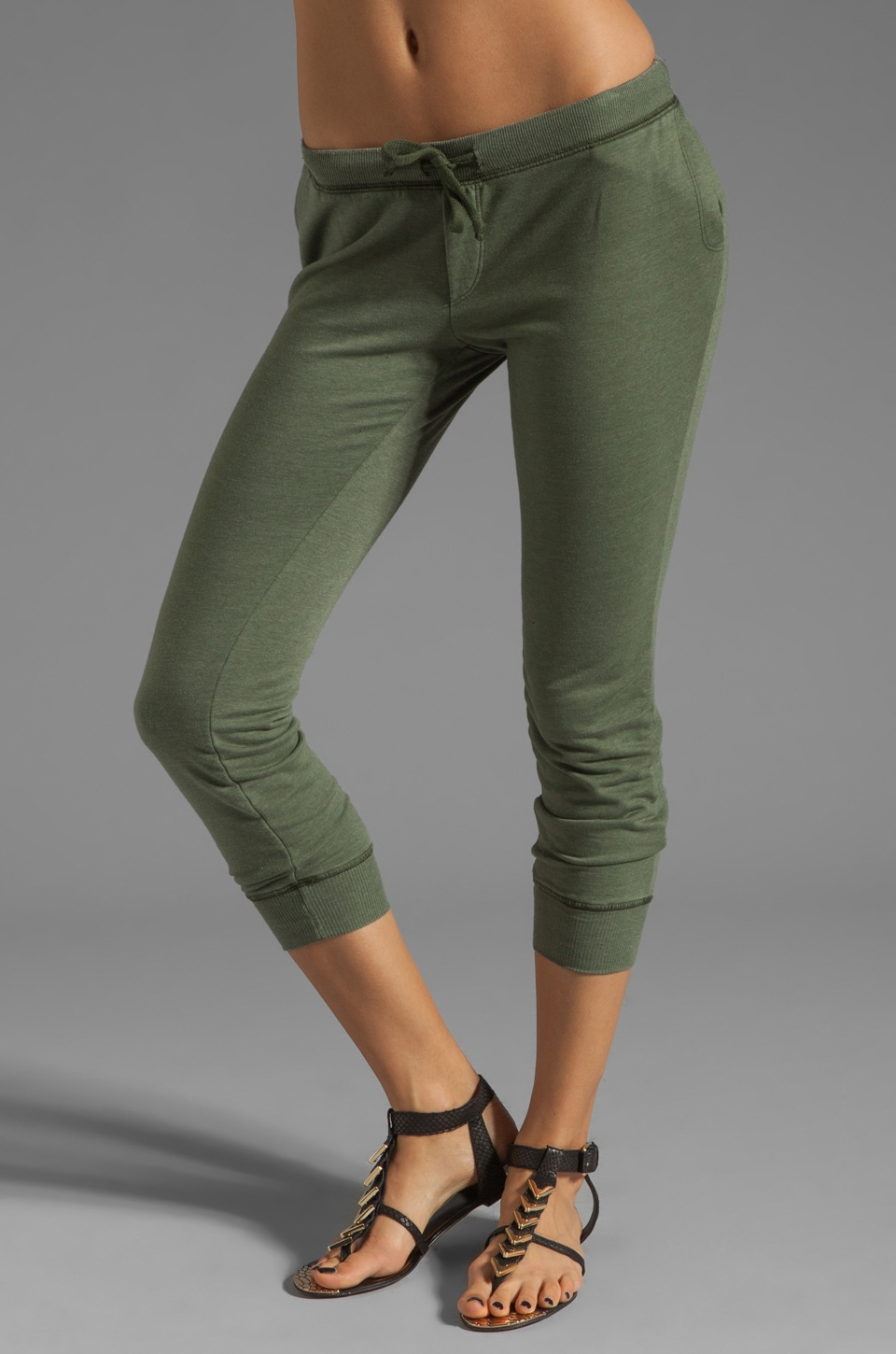 291 Freedom Wing Track Pant in Army