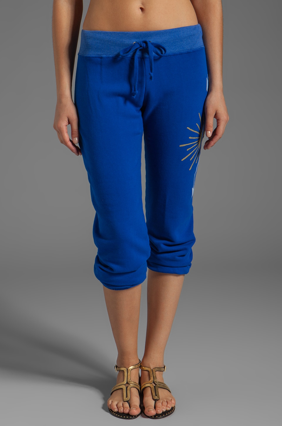 291 Love Light Baggy Pant in Electric Blue