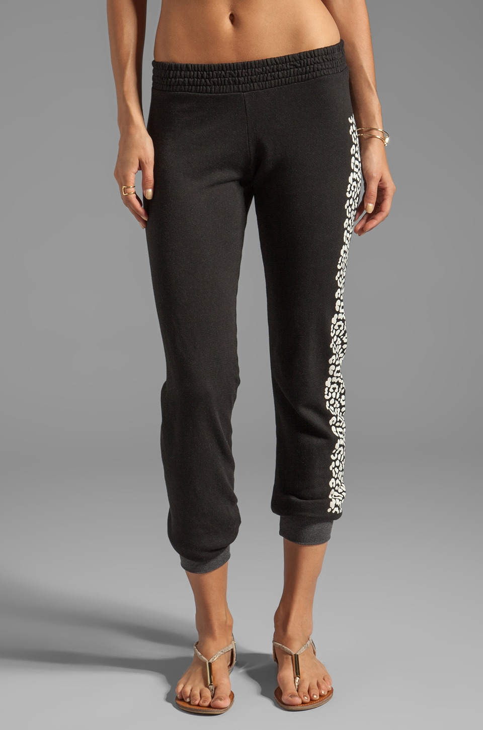 291 Les Amants Slim Track Pant in Black