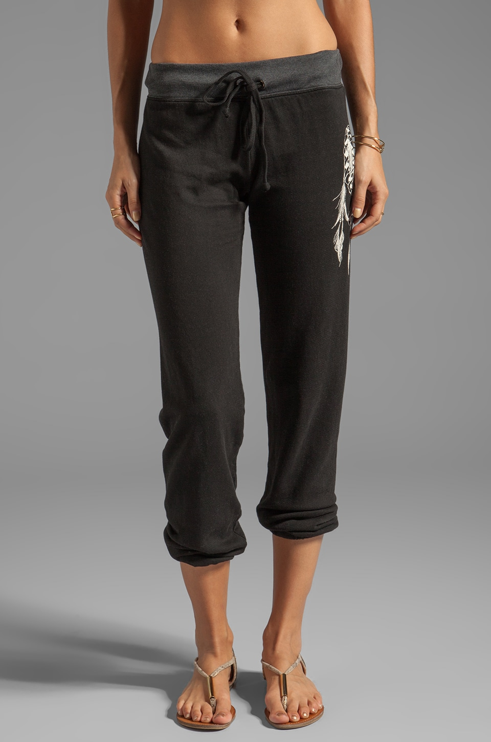 291 Heart of Bone Baggy Sweatpant in Black