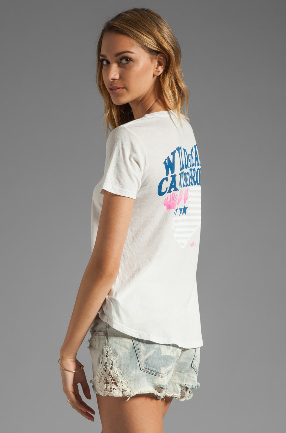 291 Hearts Can't Be Broken Boyfriend Tee in Taro