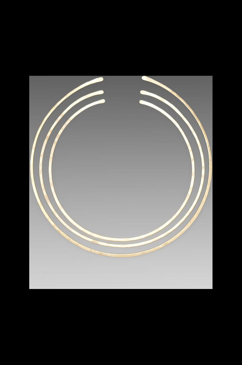 2 Bandits Circle Game Small Choker Set in Gold