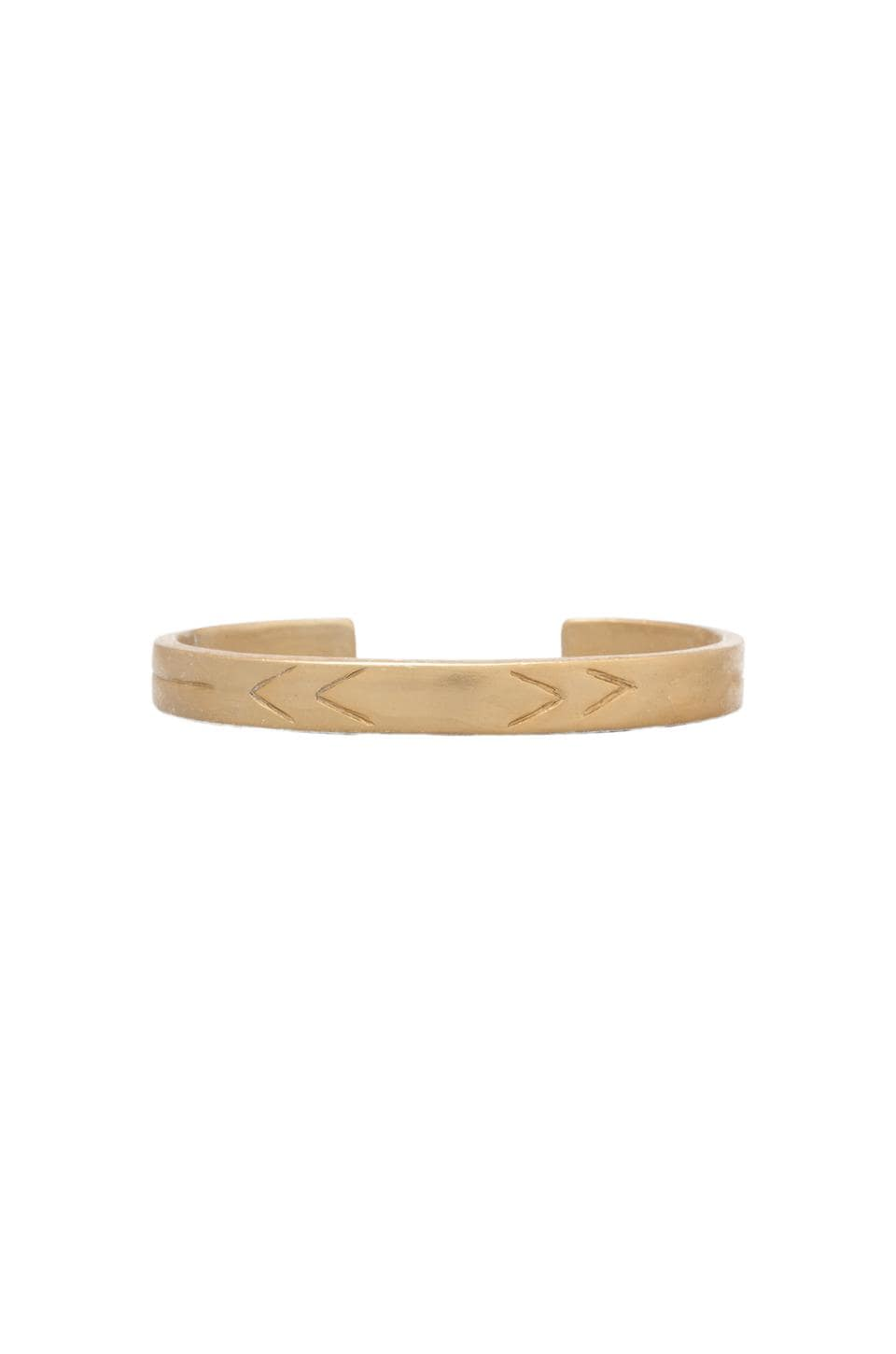 2 Bandits Texas Skies Bangle in Gold