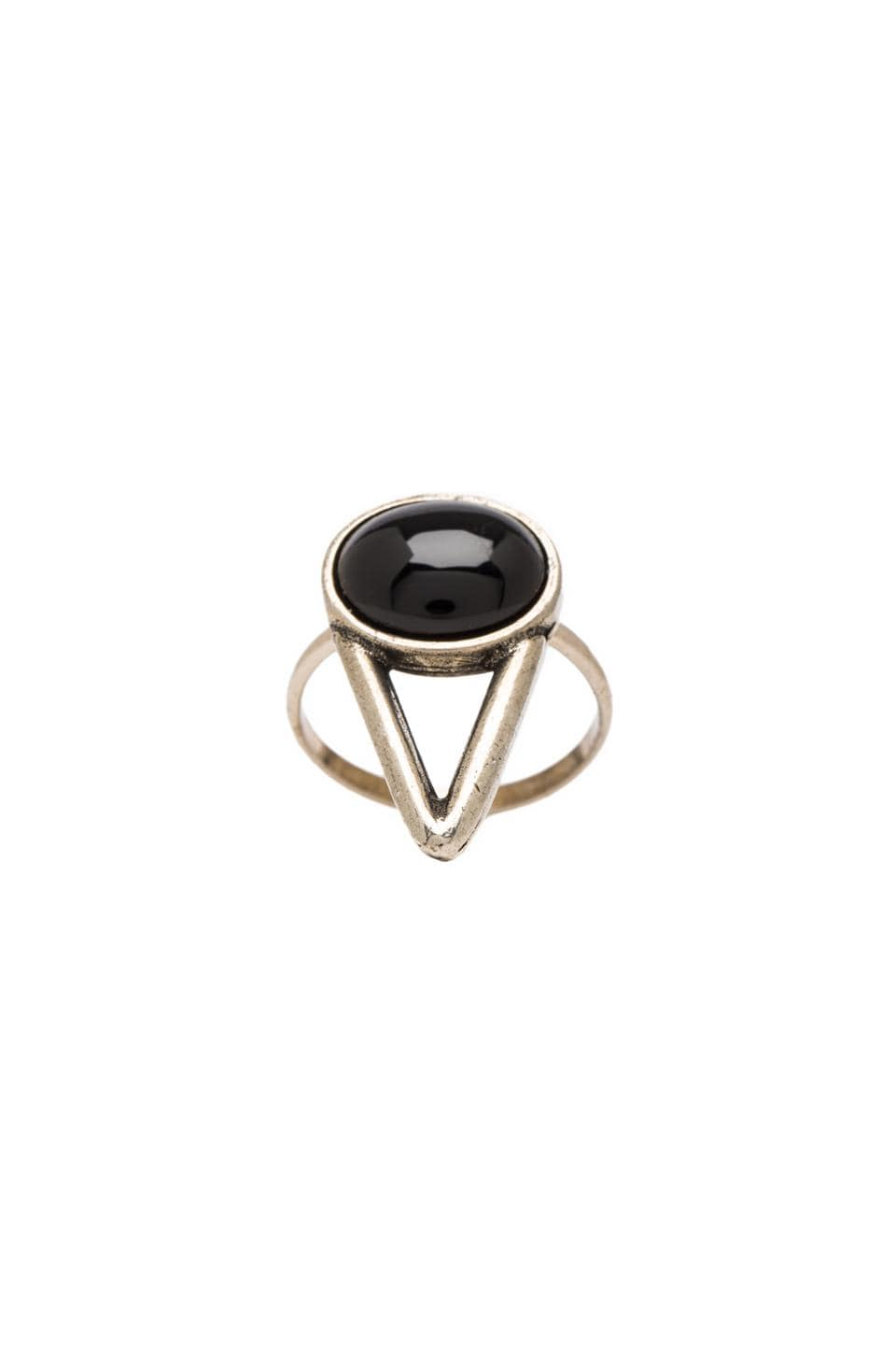 2 Bandits The Wall Ring in Black/Onyx