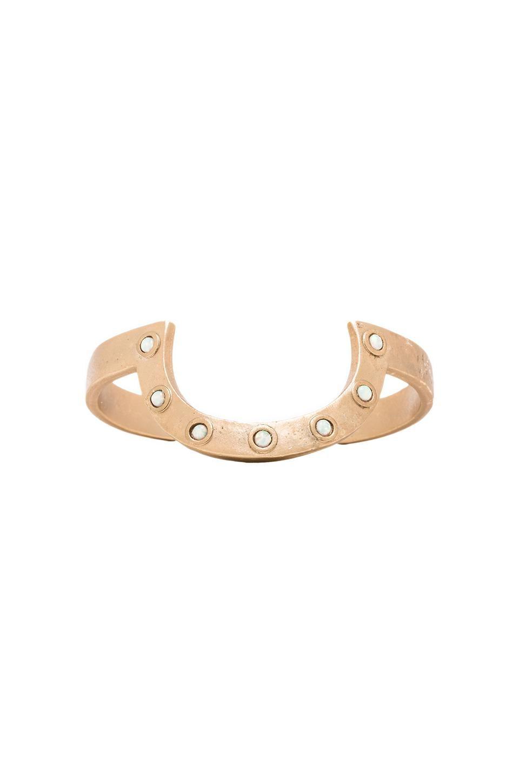2 Bandits Floyd's Horizon Cuff in Gold & Opal