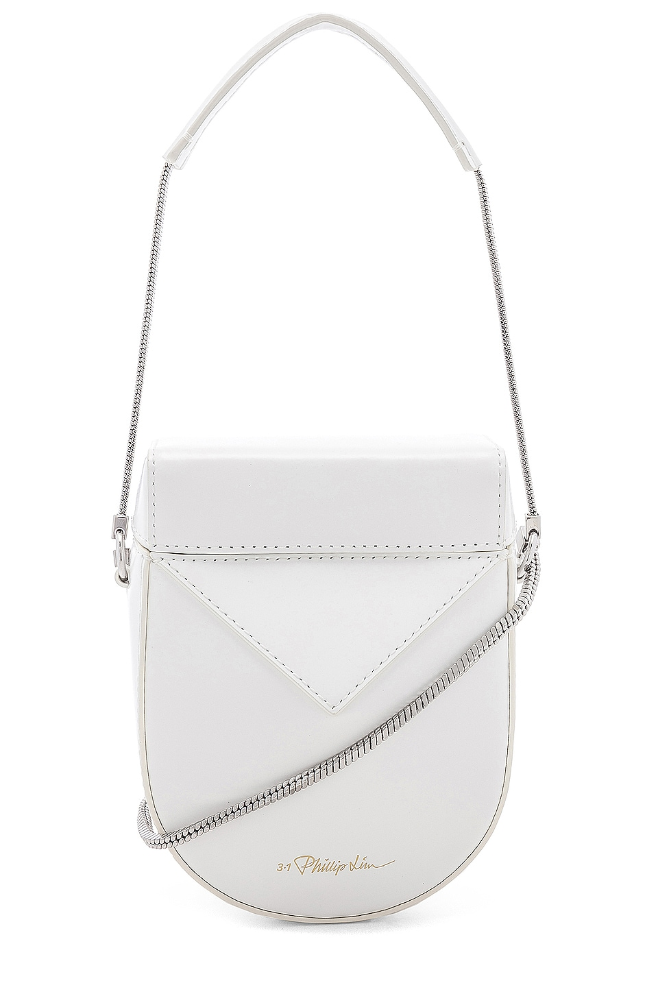 3.1 phillip lim Soleil Mini Case Bag in White