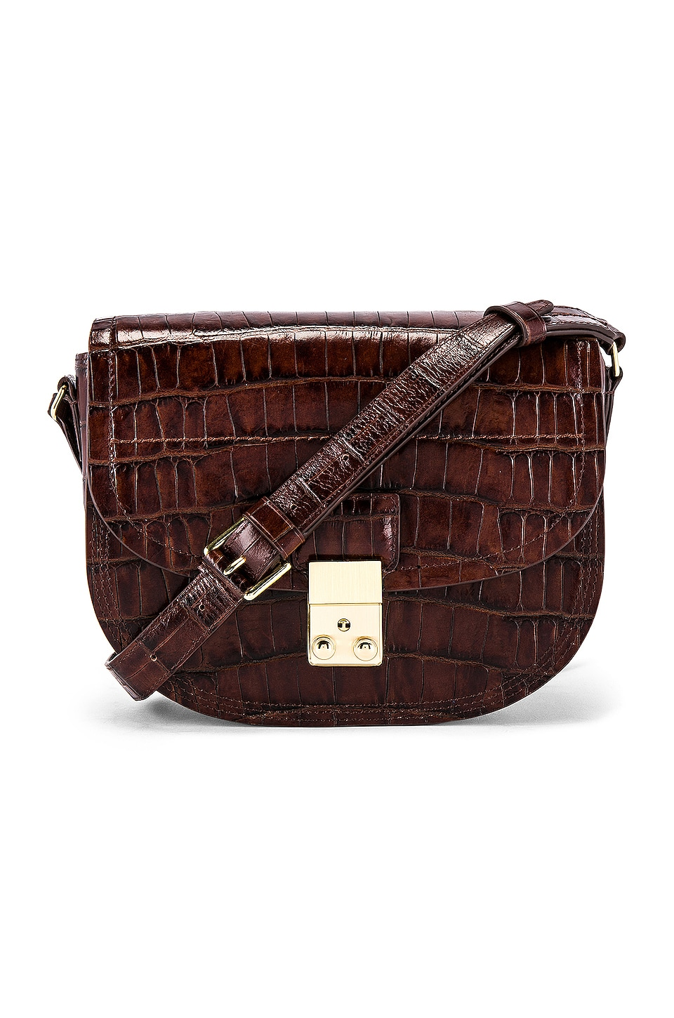 3.1 phillip lim Pashli Saddle Bag in Chesnut