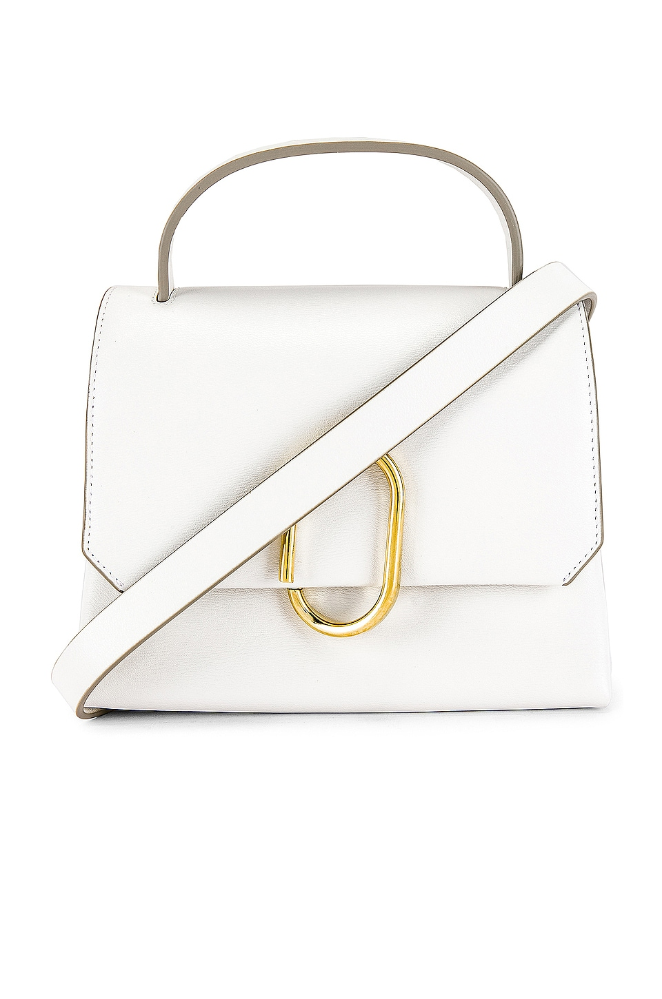 3.1 phillip lim Alix Mini Top Handle Satchel in Antique White