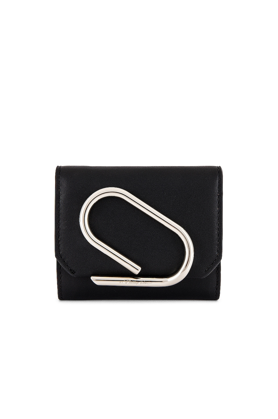 3.1 phillip lim Alix Small Flap Wallet in Black