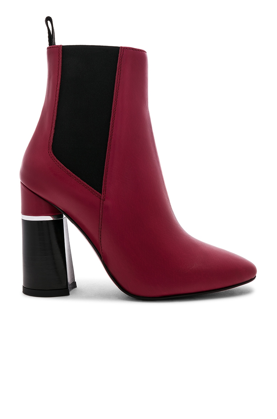 3.1 phillip lim Drum Chelsea Boot in Rouge