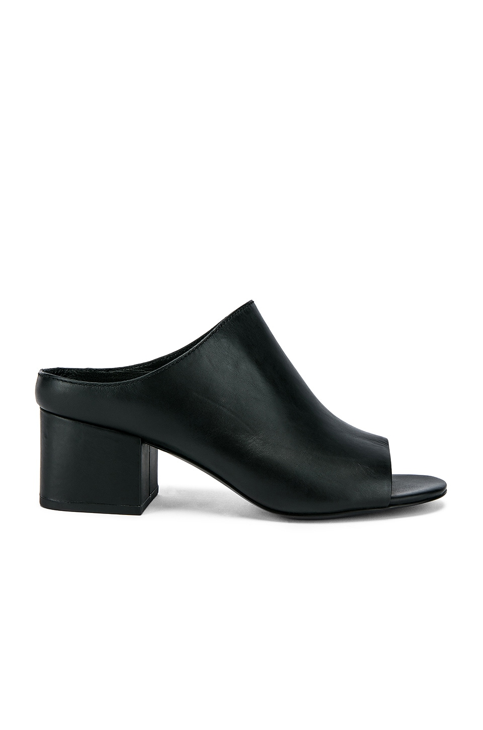 Cube Open Toe Slip On