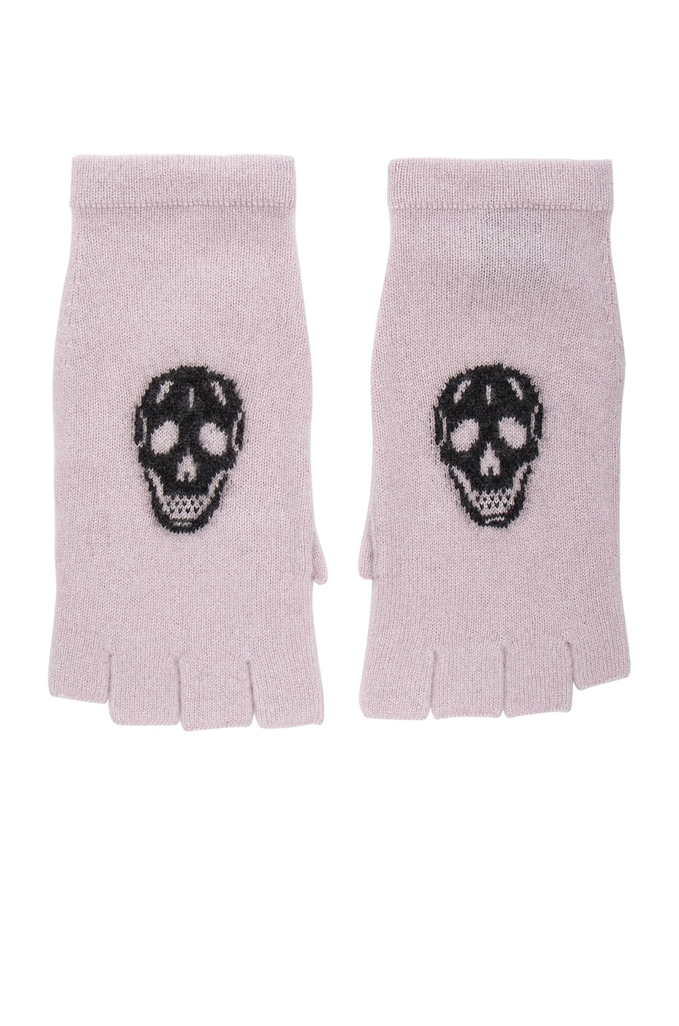 360 Sweater Skull Gloves in Flower & Charcoal Skull