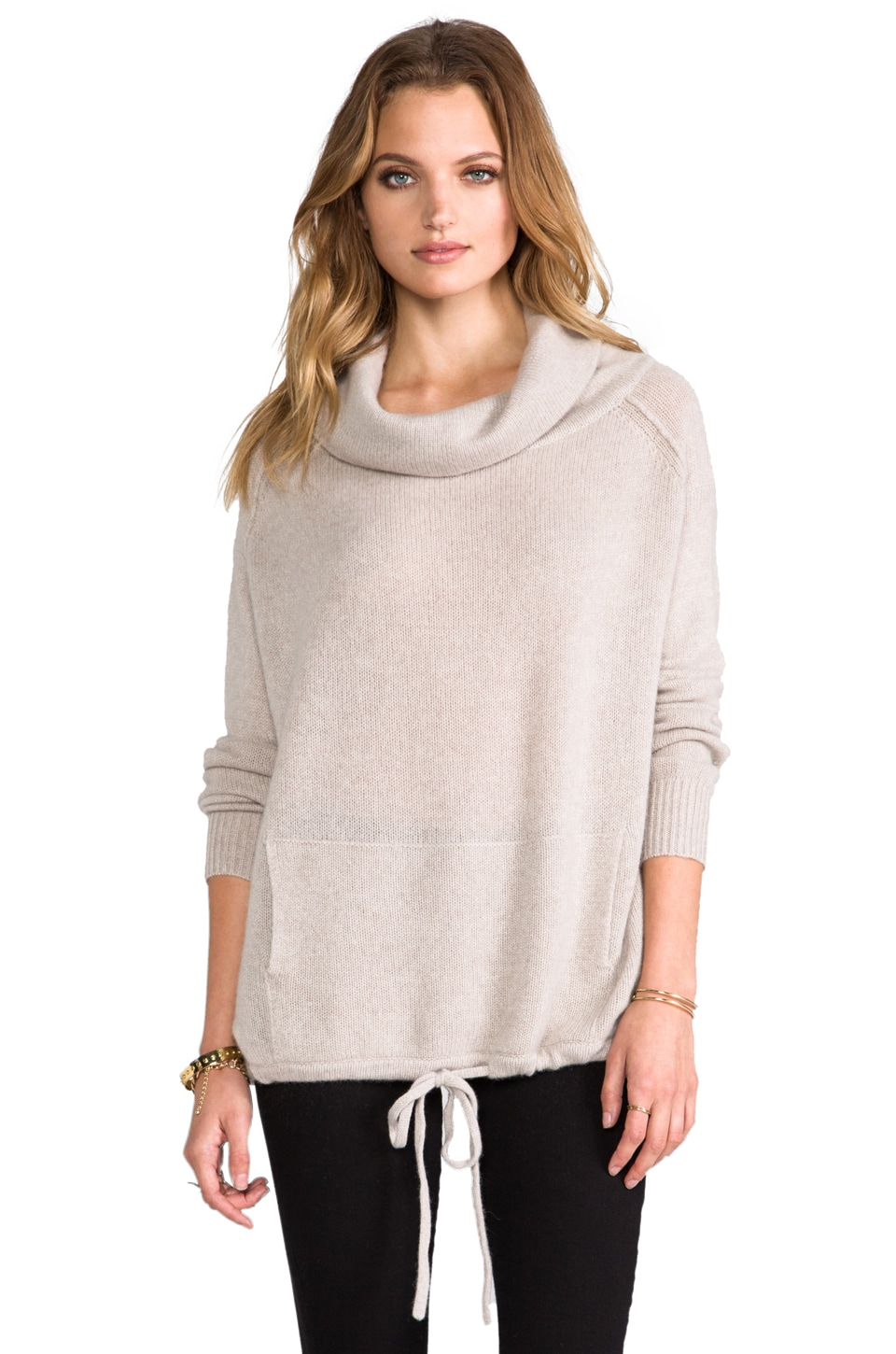 360CASHMERE Aspen Cashmere Sweater in Oatmeal