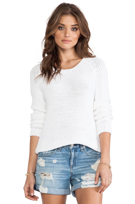 360CASHMERE Morina Sweater in White