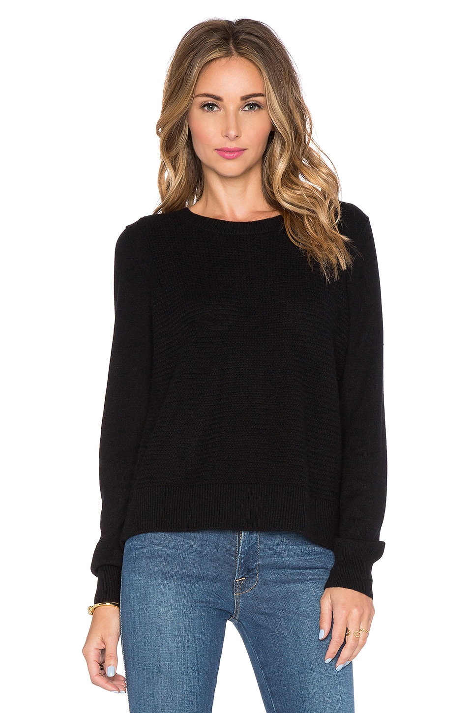 360CASHMERE Anouk Sweater in Black