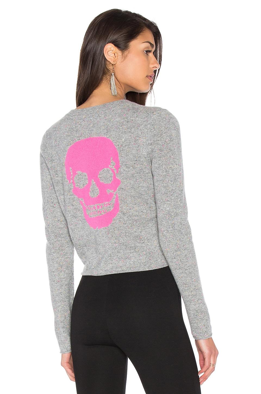 360CASHMERE Trova Cashmere Skull Sweater in Festival Skull
