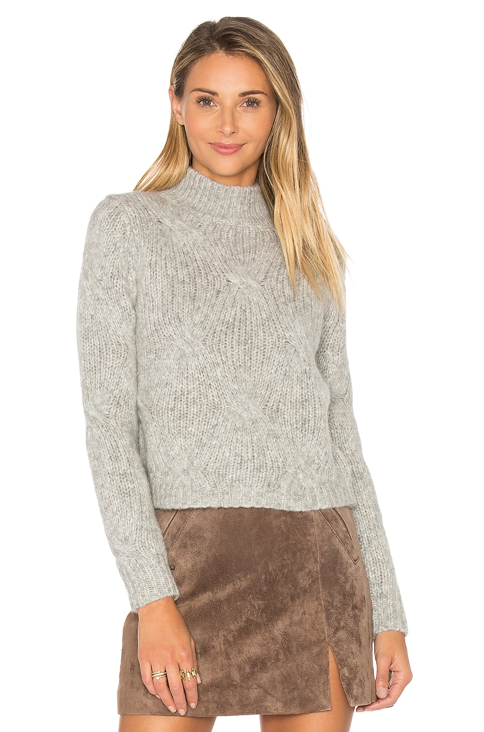 360 Sweater Harlyn Sweater in Grey