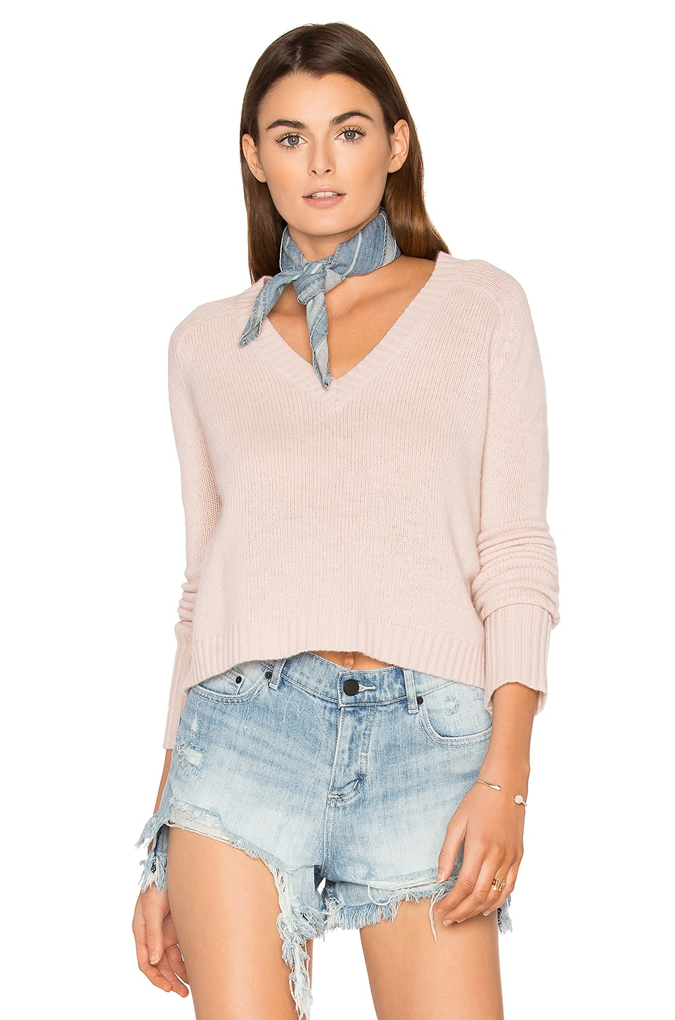 Manon Cashmere Sweater by 360 Sweater