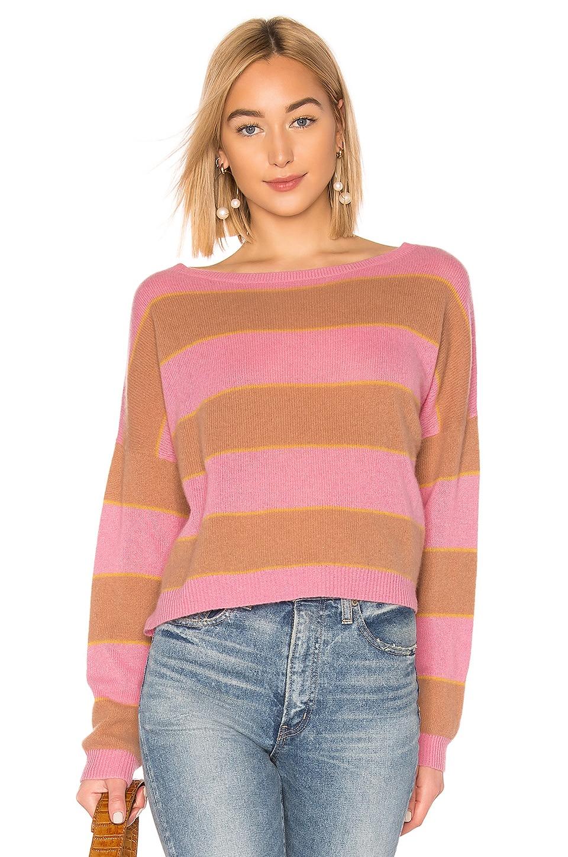 360CASHMERE X ROCKY BARNES Valery Sweater in Carnation Multi