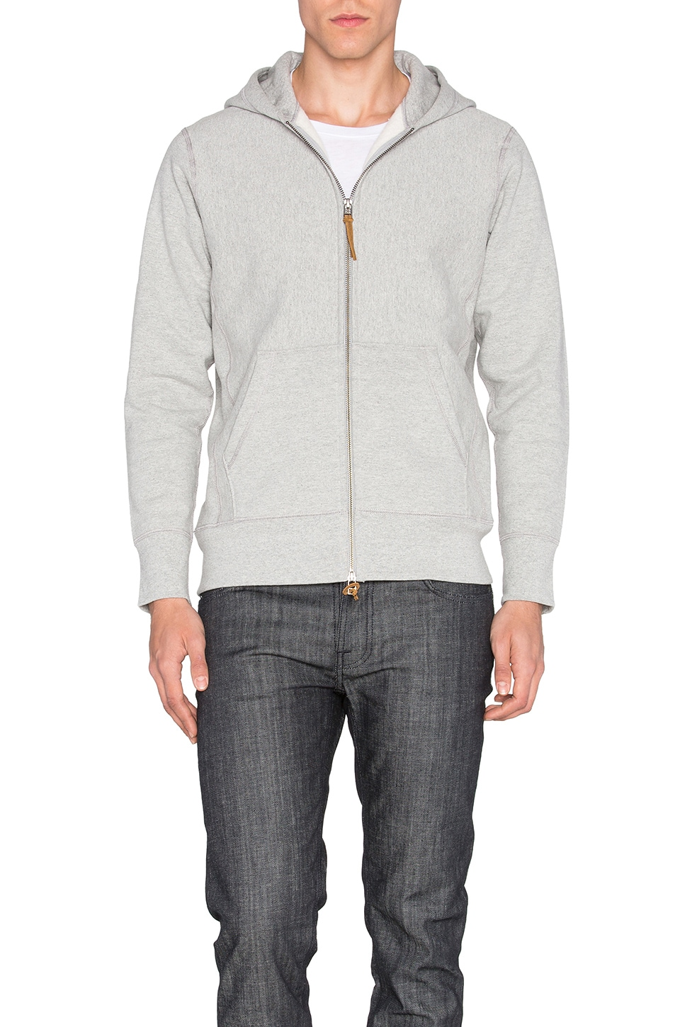 3sixteen Heavyweight Hoody in Grey