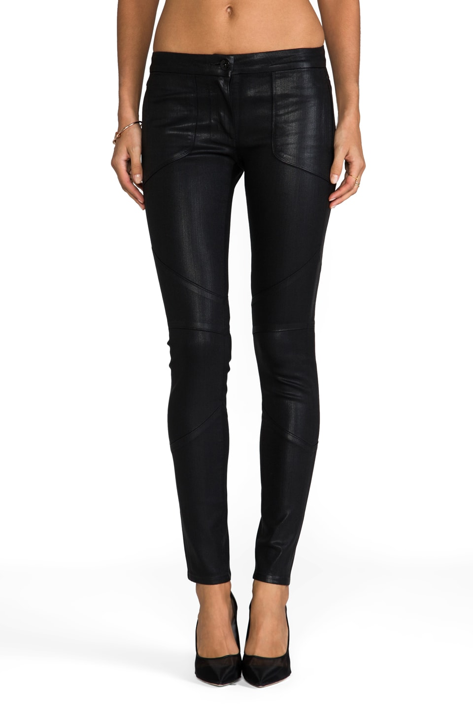 3x1 W1 Biker Pant in Destructo