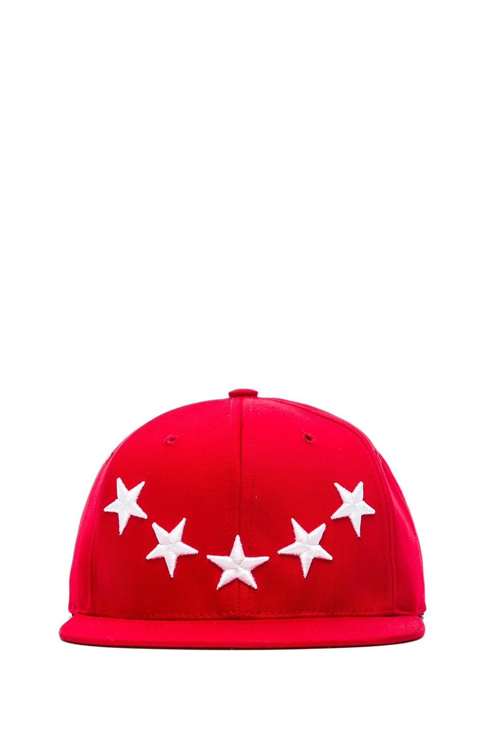 40 OZ NY Stars Snapback in Red