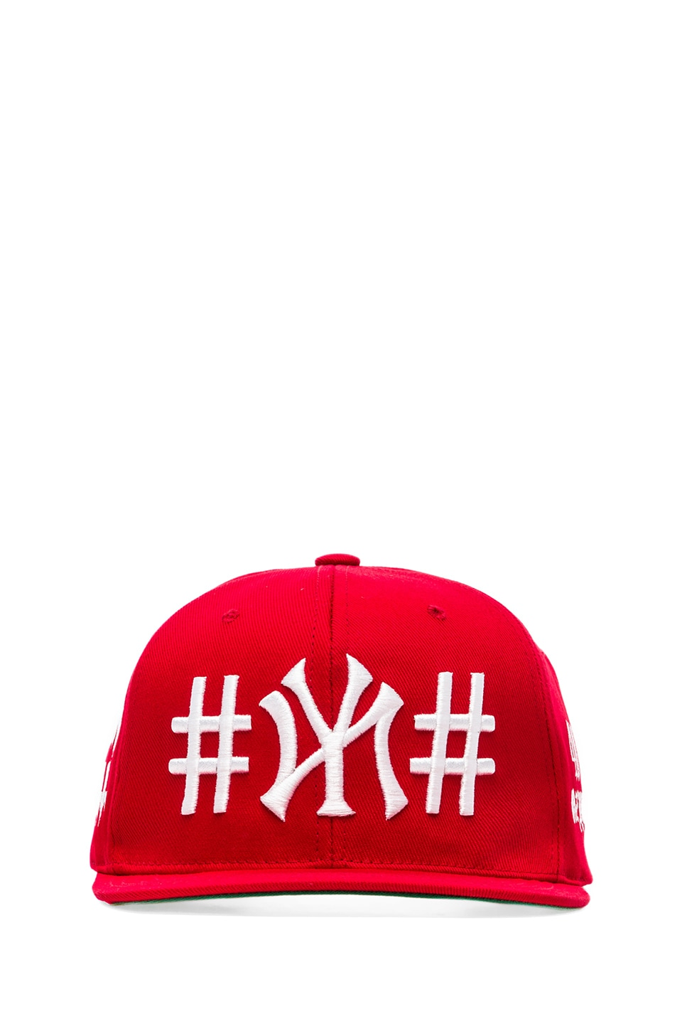 40 OZ NY Been Trill Snapback in Red