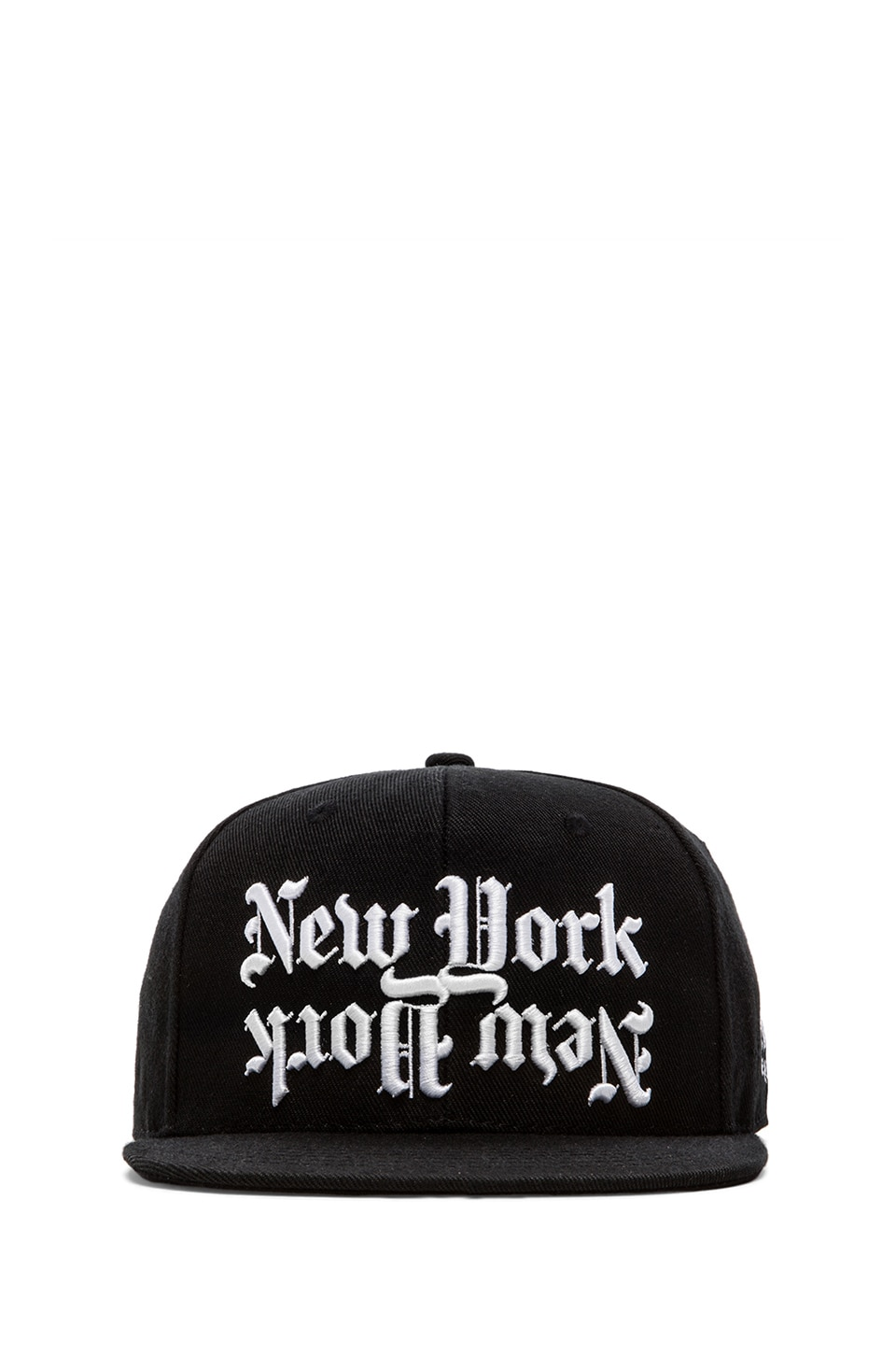 40 OZ NY Dishonor Snapback in Black