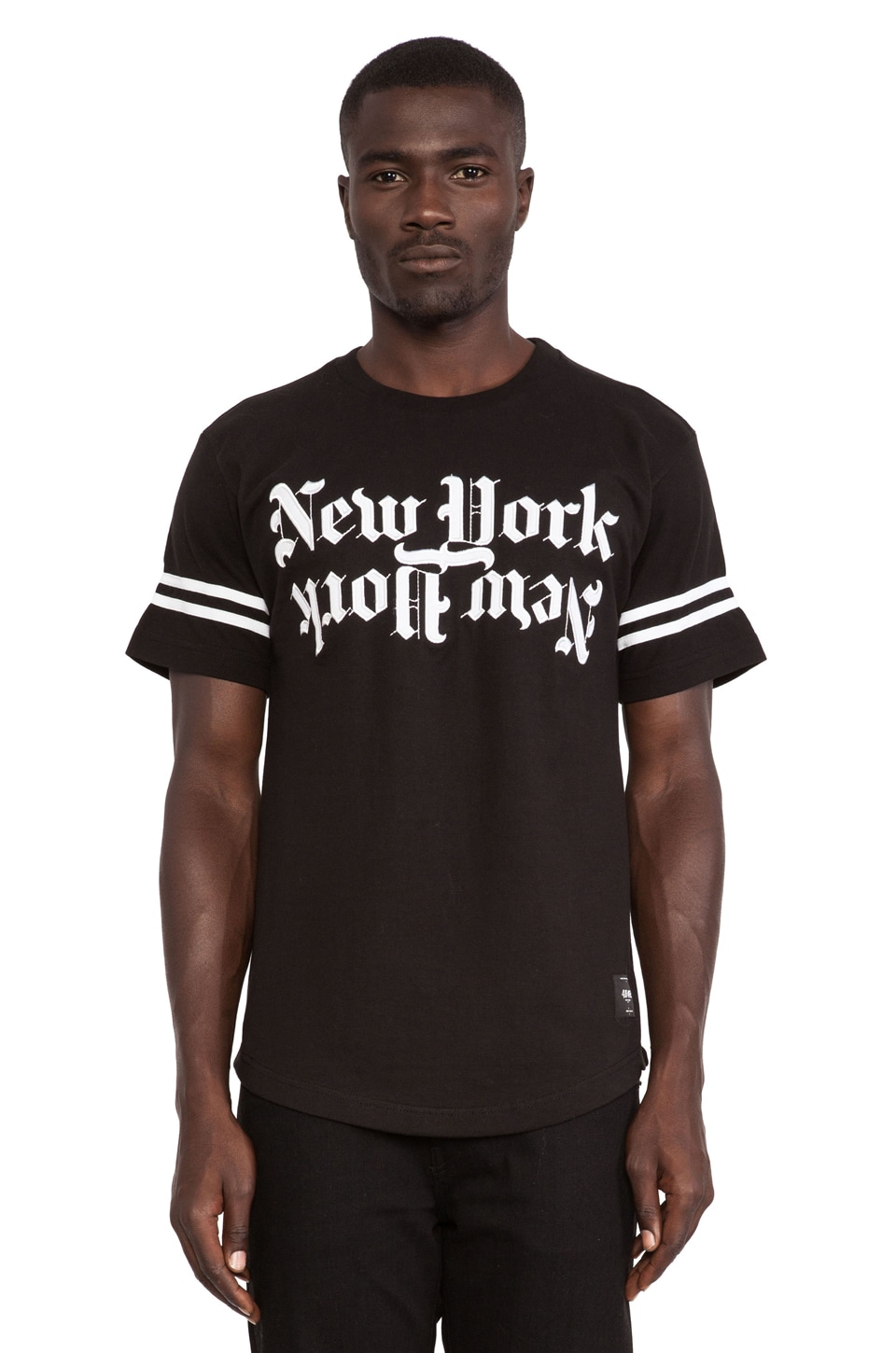 40 OZ NY New York Tee in Black