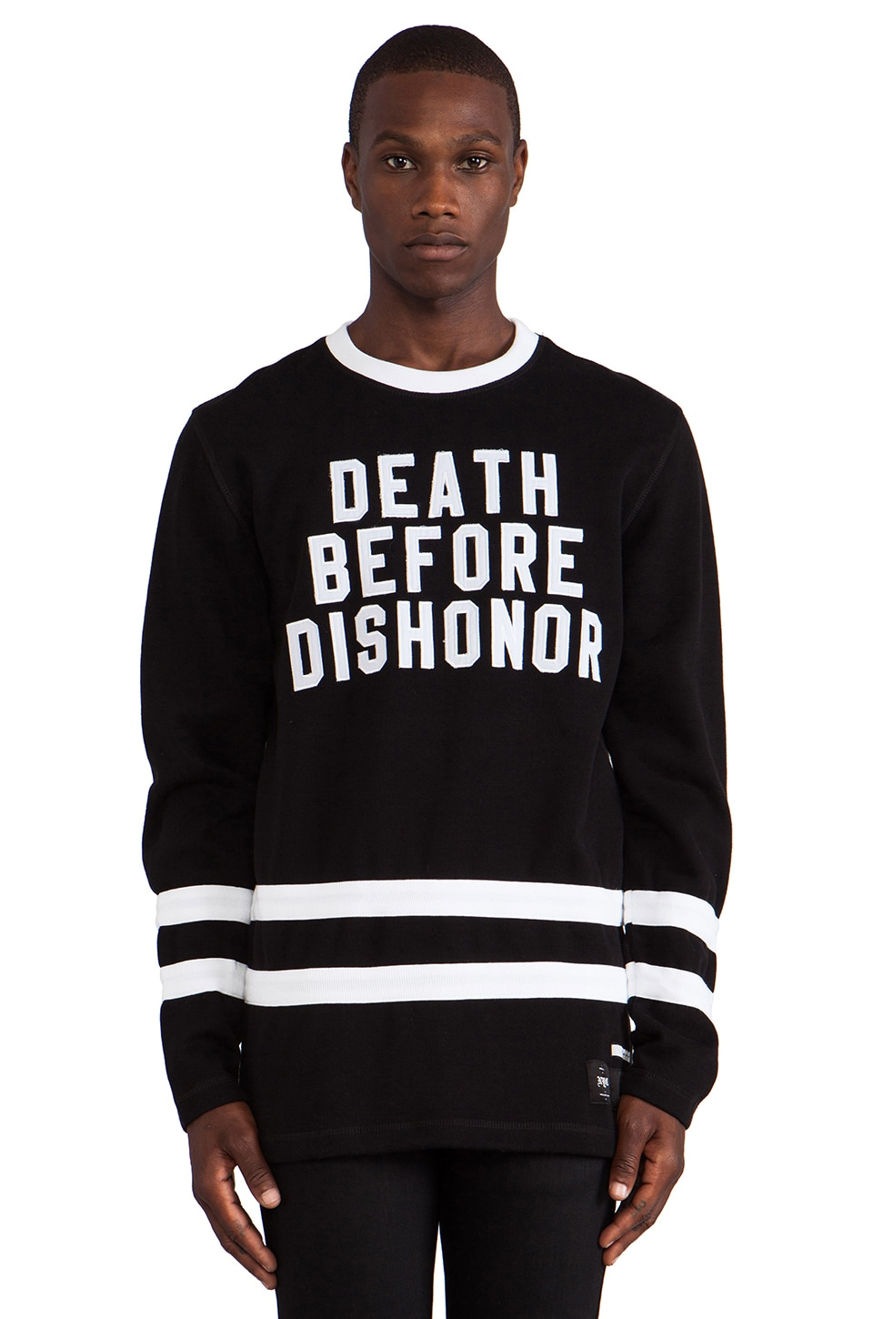 40 OZ NY Death Before Dishonor in Black