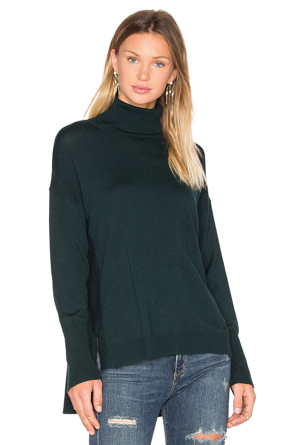 Side Slit Sweater