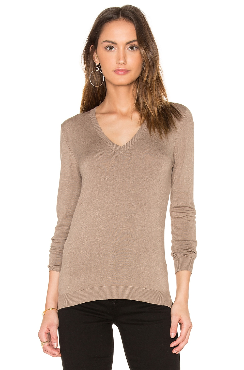 V Neck Sweater by 525 america
