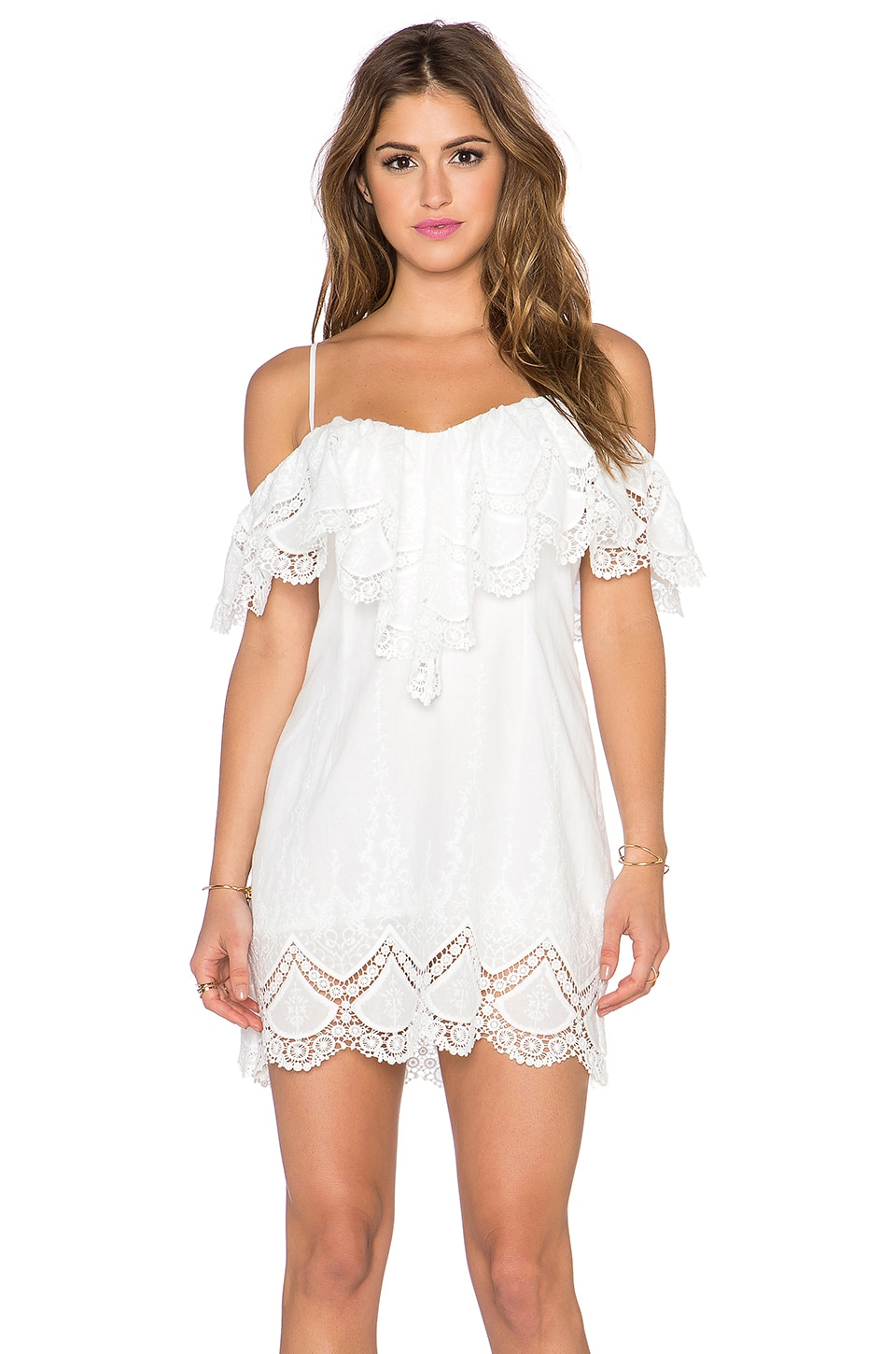 6 SHORE ROAD Beach Lover Dress in Moonlight