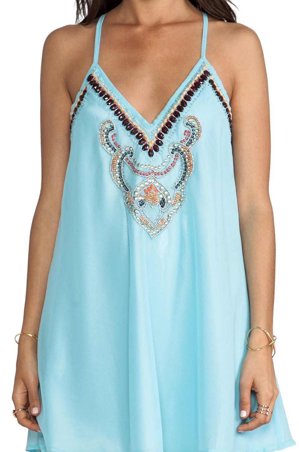 6 SHORE ROAD On the Rocks Dress in Caribbean