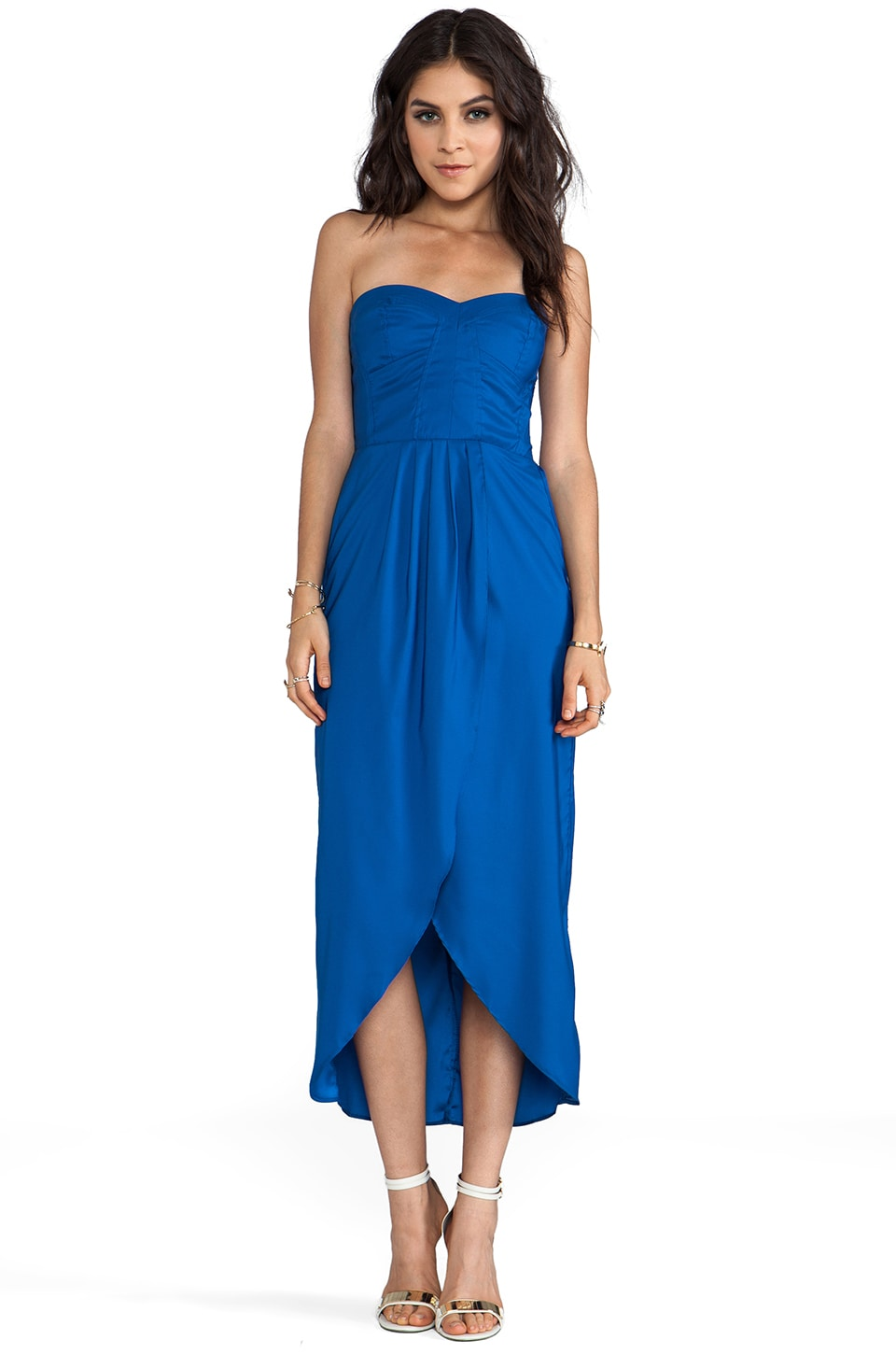 6 SHORE ROAD Naked Love Maxi Dress in Lapis