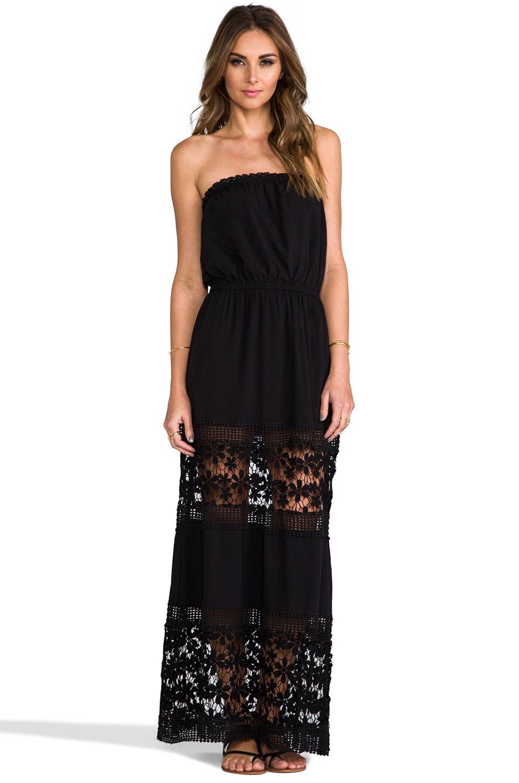 6 SHORE ROAD Charlotte's Maxi Dress in Black Rock