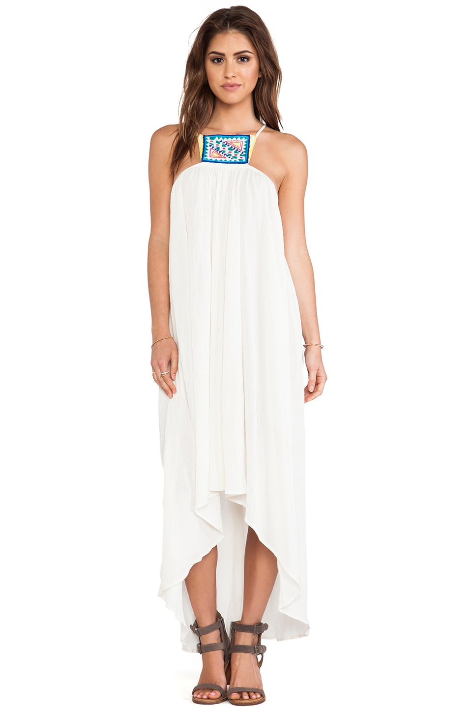 6 SHORE ROAD Hamptons Beach Dress in Mineral