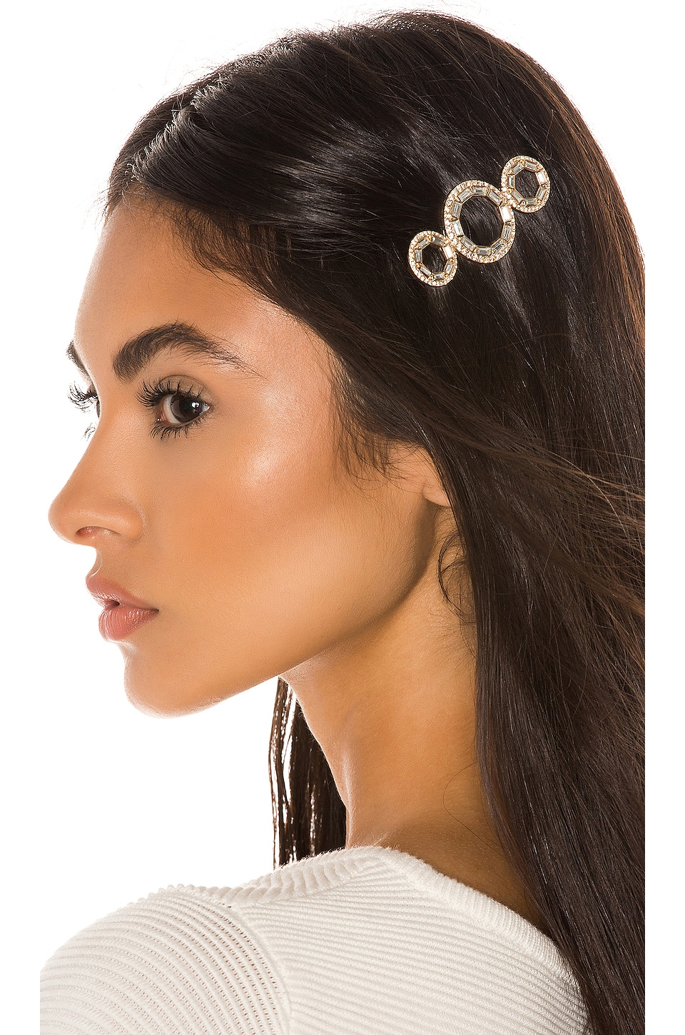 8 Other Reasons Flaunt It Clip in Crystal