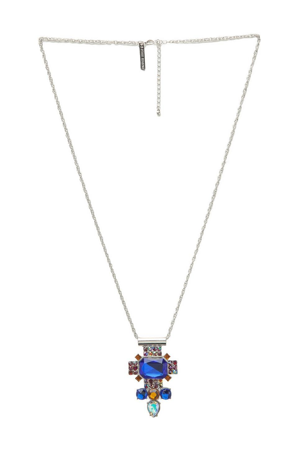 8 Other Reasons The Hero Necklace in Rhodium