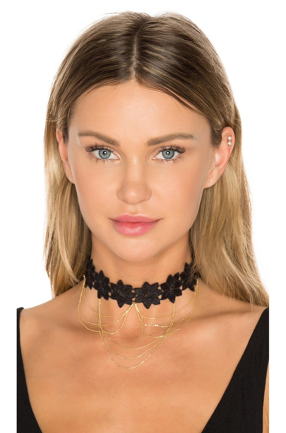 8 Other Reasons Moulin Choker in Gold