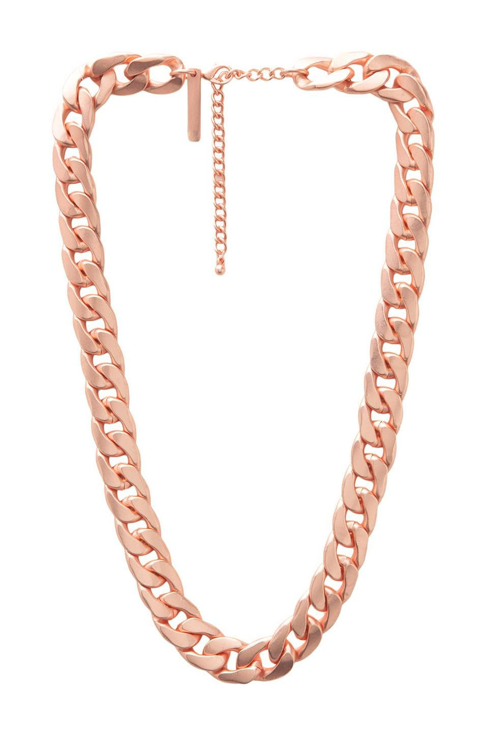 8 Other Reasons Undefeated Necklace in Rosegold