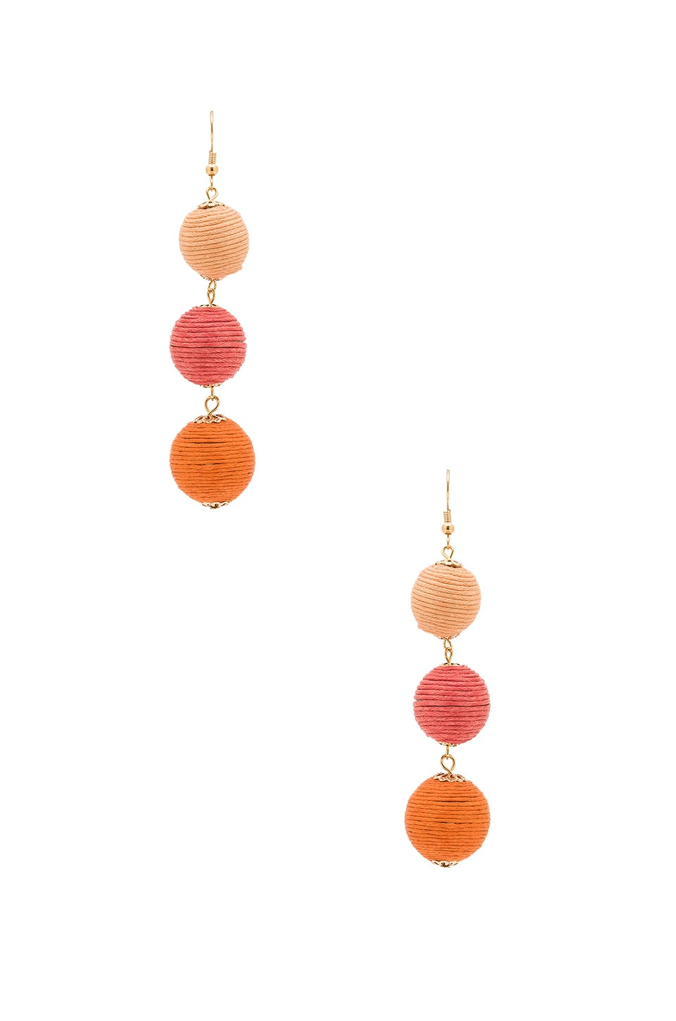 8 Other Reasons Amore Earring in Orange Ombre