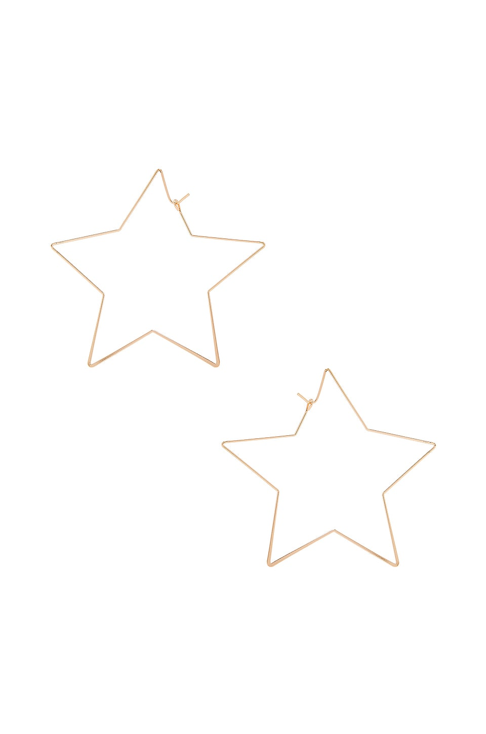 8 Other Reasons Stargirl 2 Thread Earrings in Gold