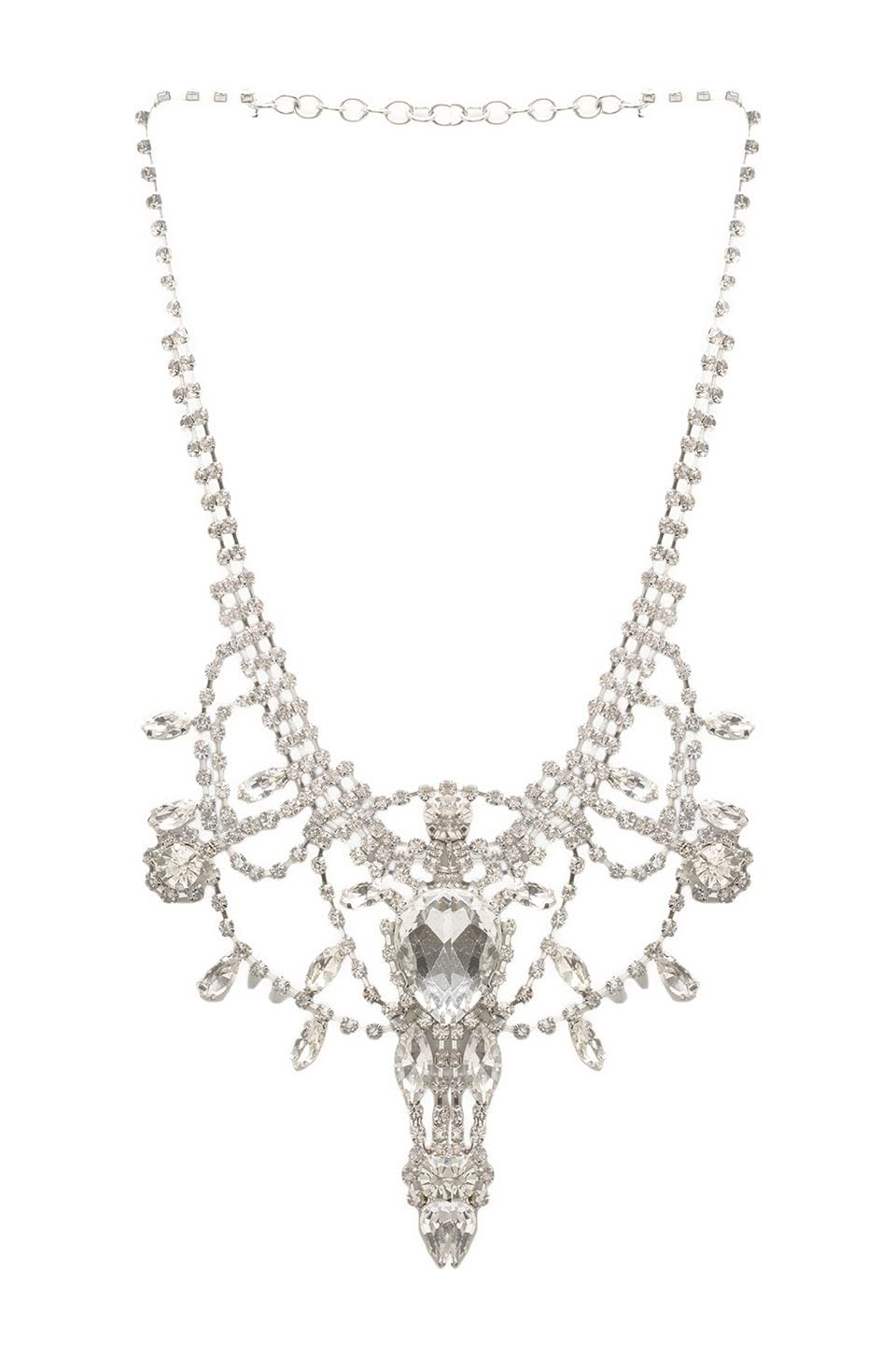8 Other Reasons This is War Necklace in Clear/Silver